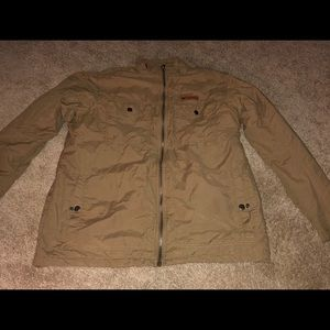 Men's Large Columbia Down Jacket Full Zip
